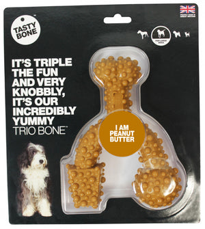 Tasty Bone Nylon Trio Peanut Butter