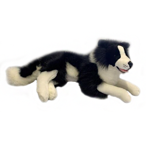 Bocchetta Blitz Border Collie (With Pocket) Plush Toy