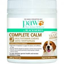 Paw Complete Calm Multi and Tryptophan Chews 300g