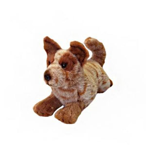 Bocchetta Flame Red Cattle Dog Plush Toy
