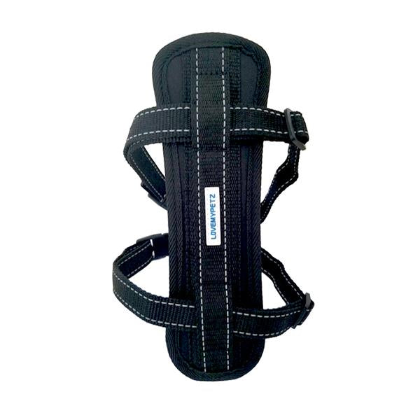 Lovemypetz Chest Comfort Dog Harness Black