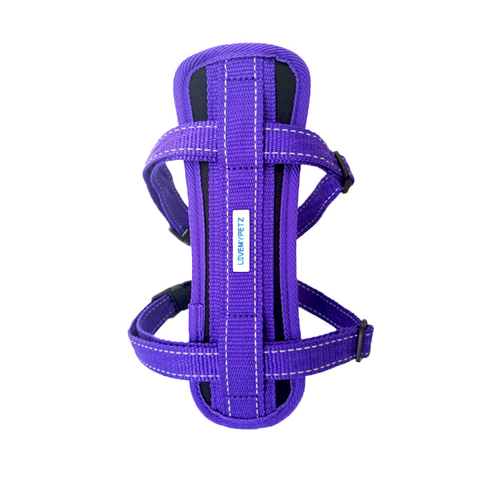 Lovemypetz Chest Comfort Dog Harness Purple