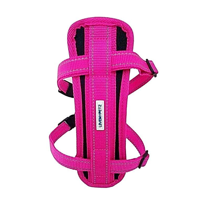 Lovemypetz Chest Comfort Dog Harness Pink