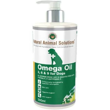 Natural Animal Solutions Dog And Horse Omega Oil