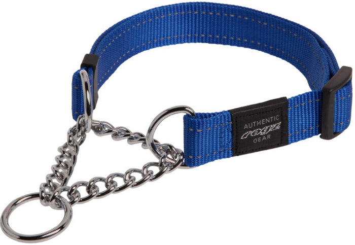 Rogz Utility Collar Obed Blue