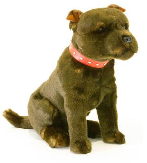 Bocchetta Scooter Staffordshire Bull Terrier Plush Toy