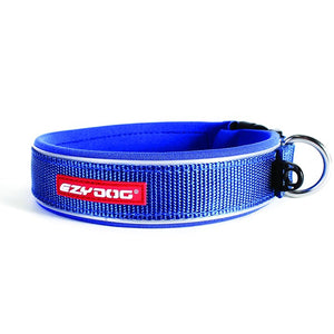 Ezydog Classics Dog Collar Blue