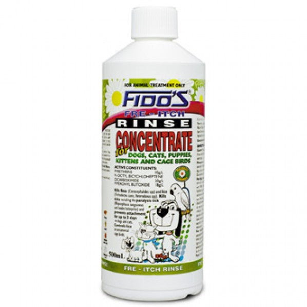 Fido's Free Itchy Rinse Concentrate