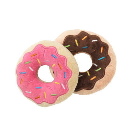 Fuzzyard Plush Toy Donuts