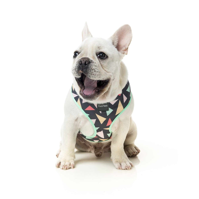 Fuzzyard Dog Harness Rad Charcoal