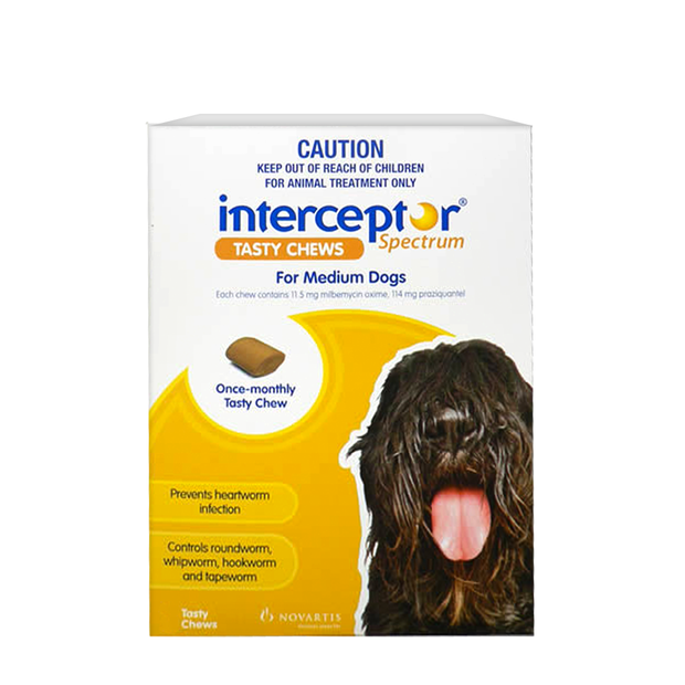 Interceptor Spectrum Tasty Chew For Medium Dog
