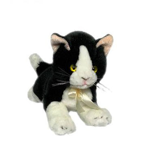Bocchetta Mango Black & White Cat Plush Toy