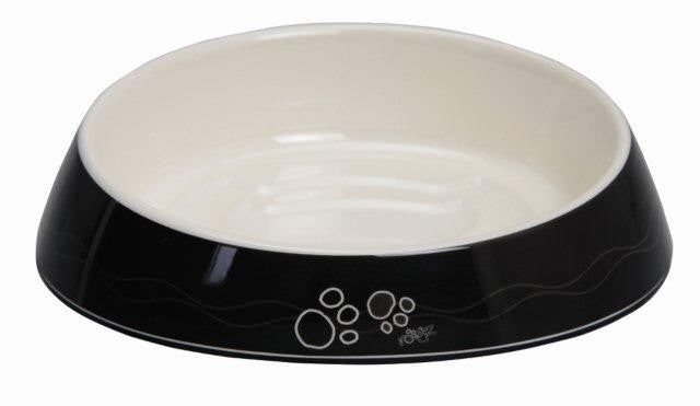 Rogz Cat Bowl Fishcake Black Paws