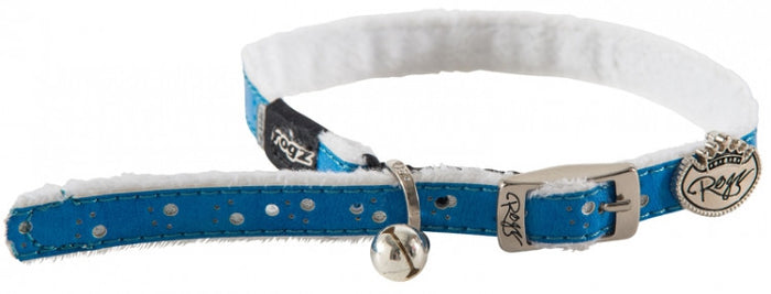 Rogz Collar Pin Buckle Trendycat Blue