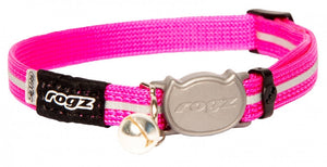 Rogz Collar Safeloc Alleycat Pink