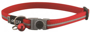 Rogz Collar Safeloc Alleycat Red