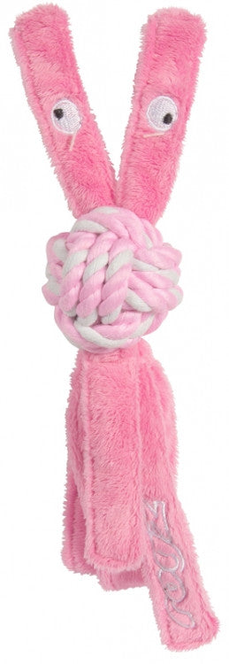 Rogz Cowboyz Pupz Dog Toy Pink Medium
