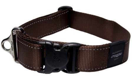 Rogz Utility Collar Chocolate
