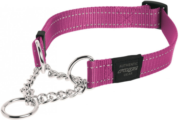 Rogz Utility Collar Obed Pink