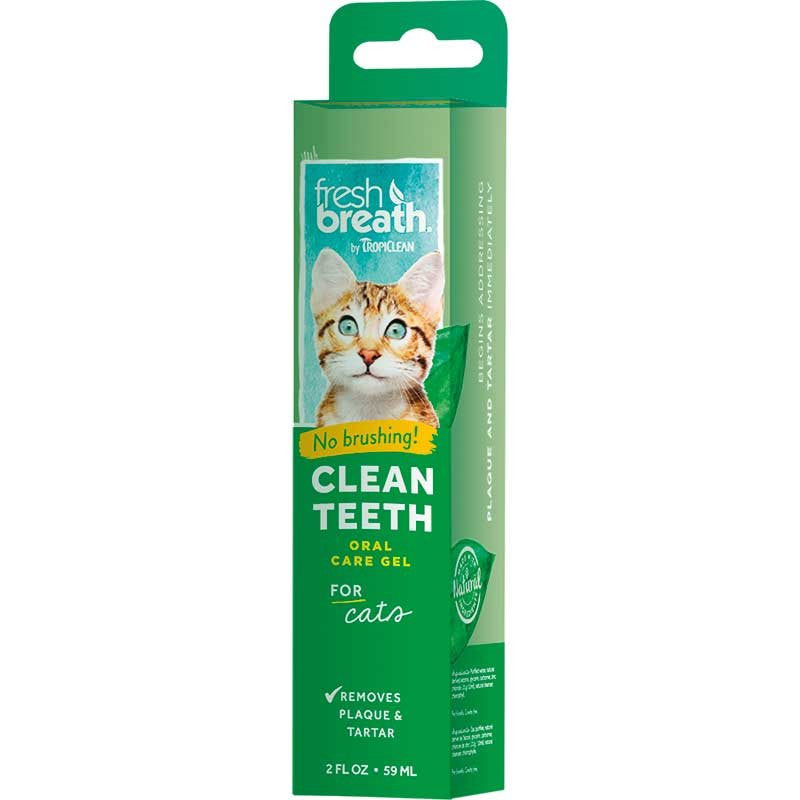 Tropiclean Fresh Teeth Gel For Cats 59Ml