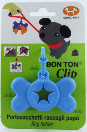 United Pet Bon Ton Clip Blue