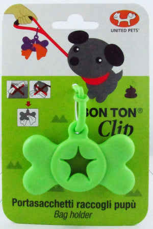 United Pet Bon Ton Clip Green