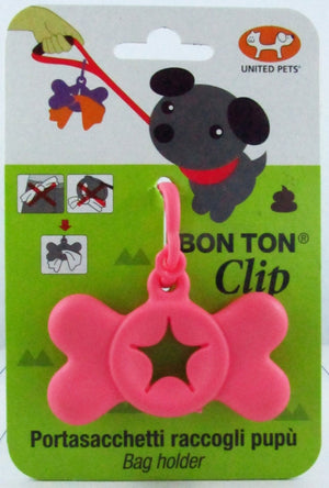 United Pet Bon Ton Clip Pink