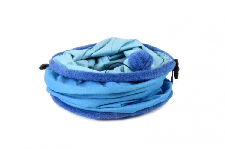 United Pet Cat Tube Blue