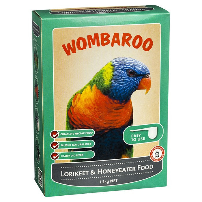 Wombaroo Lorikeet & Honeyeater Food