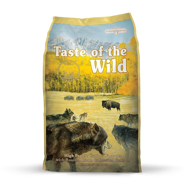 Taste of the Wild High Prairie Bison Venison