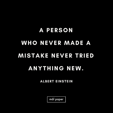 make mistakes quote