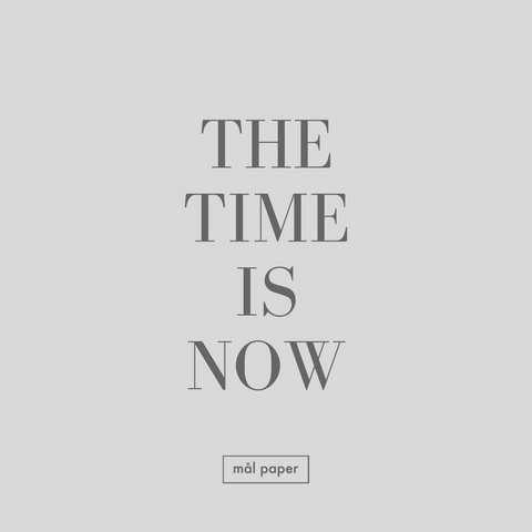 the time is now motivational gratitude quote