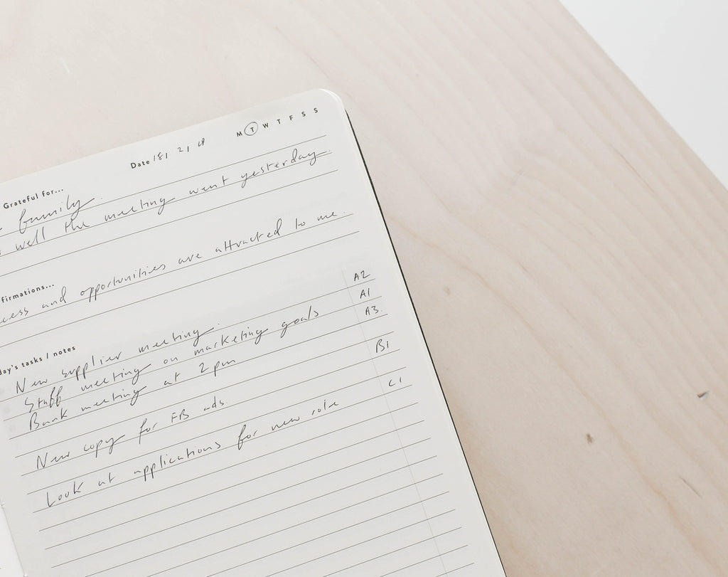 use a budgeting planner