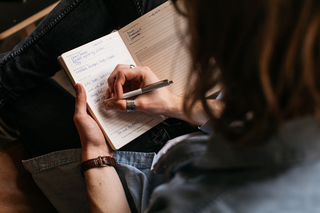 Journaling in a Mindfulness Journal