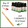 Holiday HealThy Mouth Blend + Free BRUSHECO BAMBOO Bass Toothbrush Offer