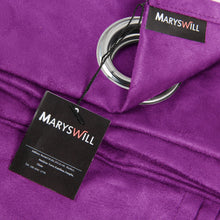 Maryswill Dark Purple Window Panels
