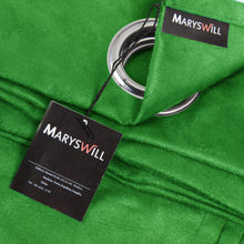 Maryswill Dark Green Window Panels