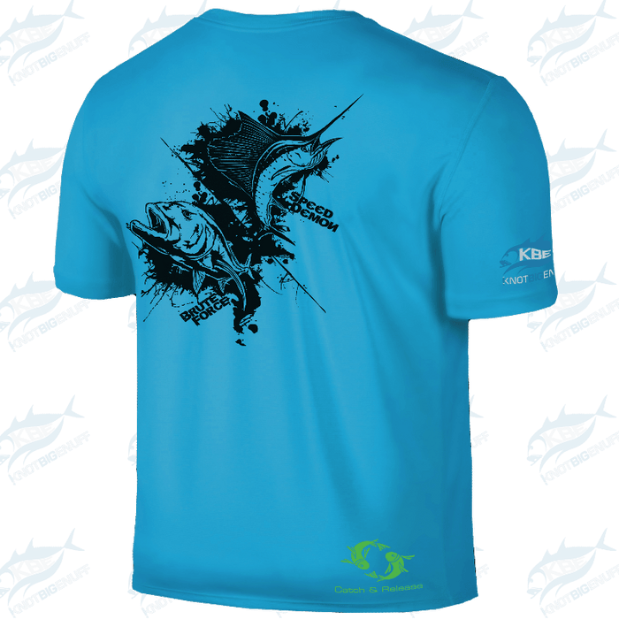 SportyFish Ink Series Shirt SS - GT/Sailfish