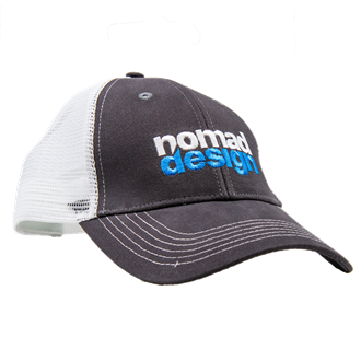 Nomad Design Hat - Grey White (AP-LOGOTRUCK-Hat)