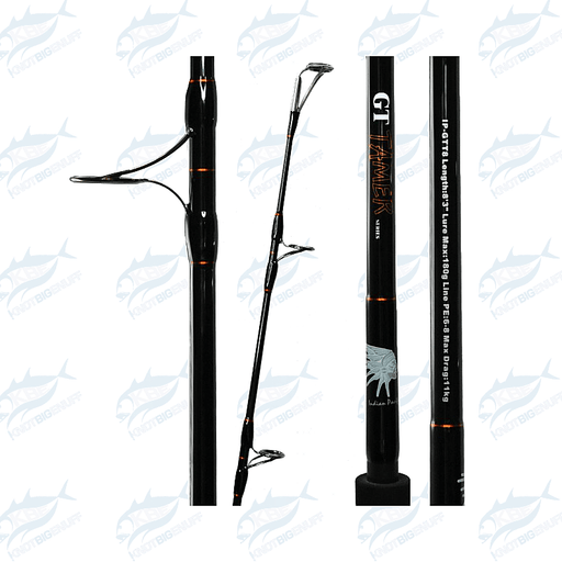 ASWB Indian Pacific GT Tamer Rod IP-GTT8 - KBE Anglers Hub