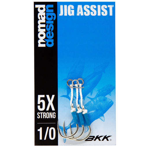 Nomad Design Jigging Assist Hook Packs - KBE Anglers Hub