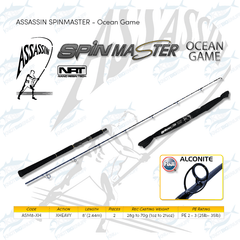 Assassin Spinmaster Ocean Game - KBE Anglers Hub