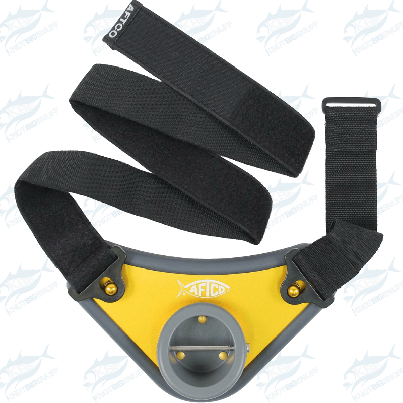 AFTCO Alijos Fighting Belt BELT3 GLD 0030 - KBE Anglers Hub