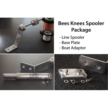 Bee's Knees Reel Spooler Wall Adaptor (Base Plate) - KBE Anglers Hub