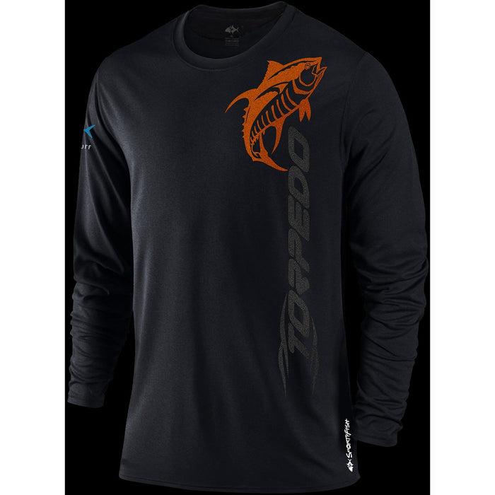 SportyFish Black Series Shirt LS - KBE Anglers Hub