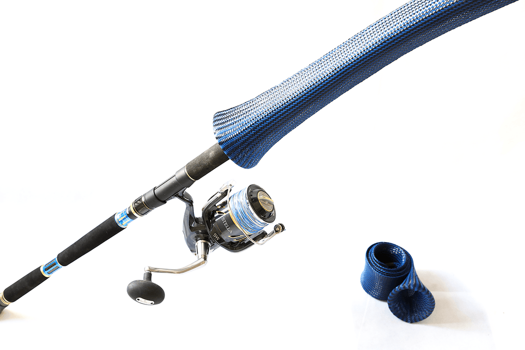 Rod Armour Case Dark Blue GT Tackle (6 to 8') - KBE Anglers Hub