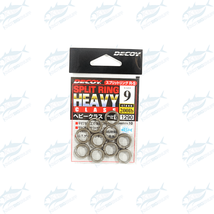 Decoy Heavy Class Split Ring R-5 - KBE Anglers Hub