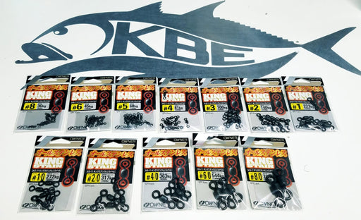 Owner King Stain Swivel - KBE Anglers Hub