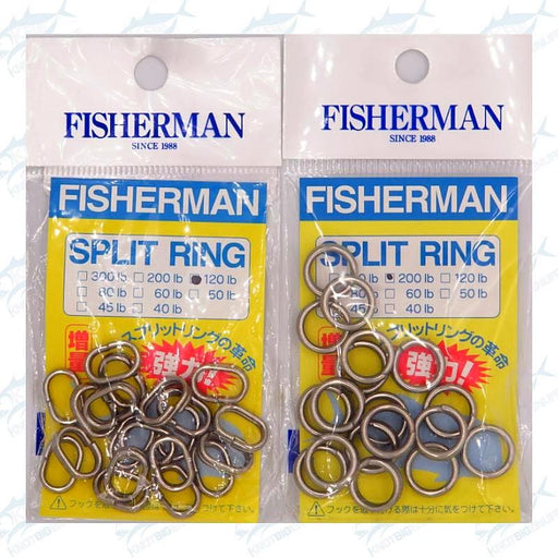 Fisherman Split Ring - KBE Anglers Hub