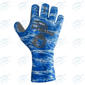 Fish Monkey Half Finger Guide Glove - KBE Anglers Hub